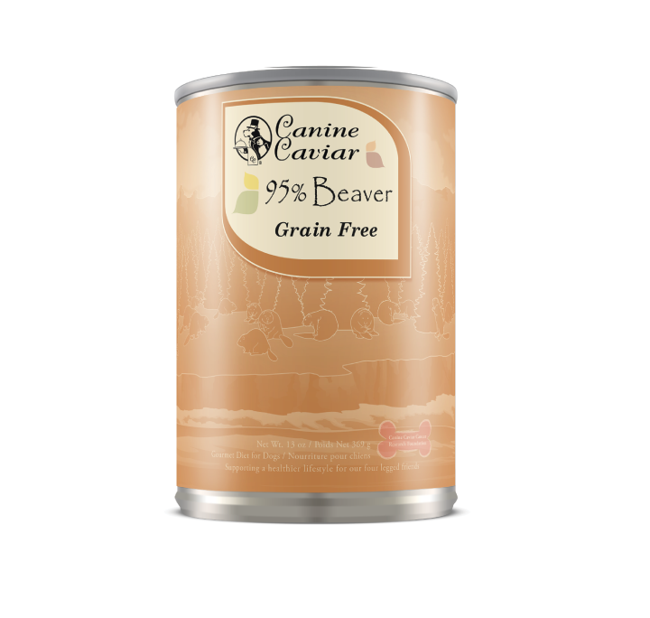 Canine Caviar Beaver Protein Supplement Canned Dog Food