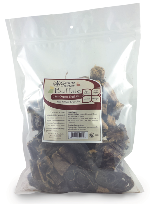 Canine Caviar Buffalo Organ Trail Mix - Canine Caviar Alkaline Dog Food