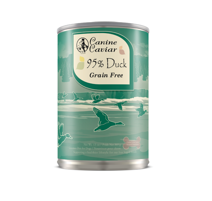 Canine Caviar Duck Protein Supplement Canned Dog Food