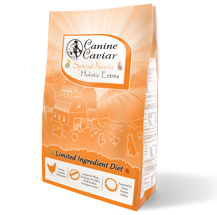 Canine Caviar Special Needs Holistic Dry Food - Canine Caviar Alkaline Dog Food