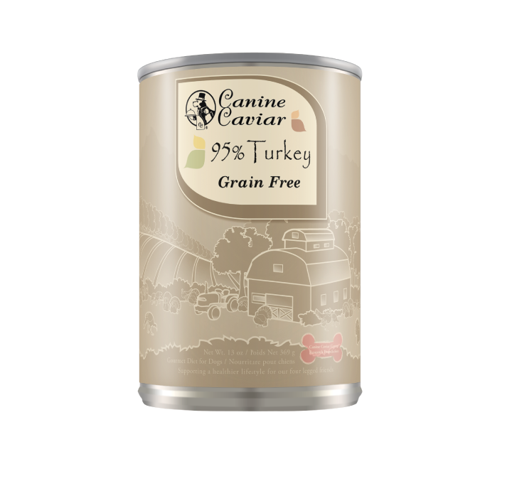 Canine Caviar Turkey Protein Supplement Canned Dog Food