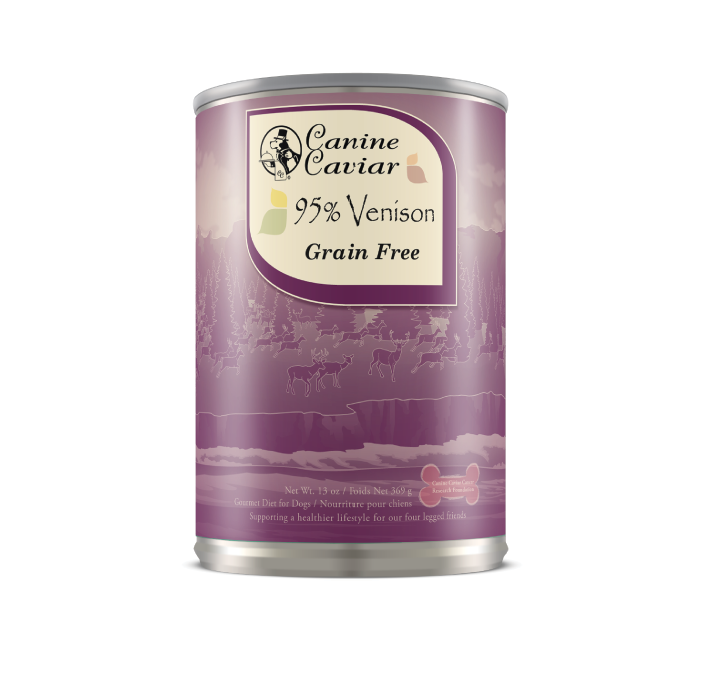 Canine Caviar Venison Protein Supplement Canned Dog Food